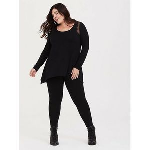 Torrid Super Soft Sharkbite Tee